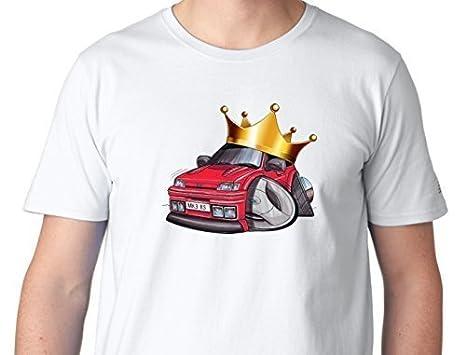 EL REY OF Corona Bordada cuenta con una Coronado Dibujos Koolart Mk3 Ford Fiesta RS Turbo