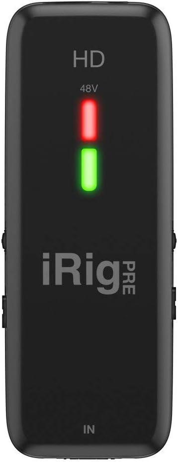 IK Multimedia iRig Pre HD Digital Microphone Interface For iPhone, iPad And Mac/PC
