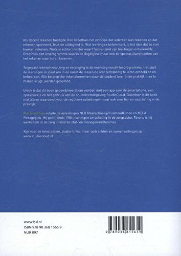 Toegepast rekenen voor zorg en verpleging: Amazon.es ...