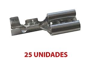 Fologar 25X Terminal Faston 2.8 mm Hembra