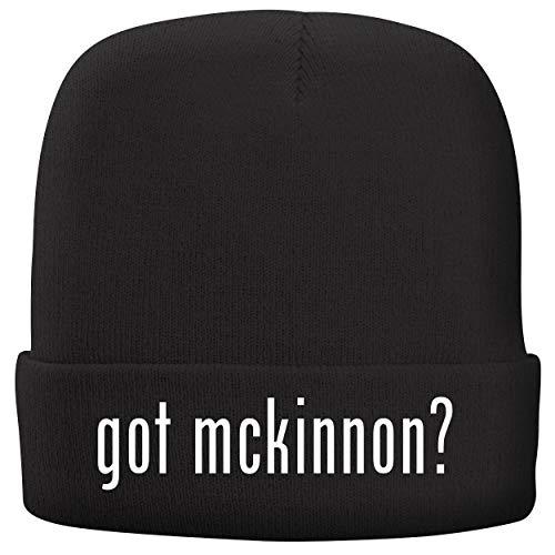 (BH Cool Designs got McKinnon? - Adult Comfortable Fleece Lined Beanie, Black)