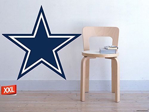 Full Color Dallas Cowboys decal, Full Color Dallas Cowboys sticker, Full Color Dallas Cowboys wall decal,Dallas Cowboys logo decal, NFL logo decal, Dallas Cowboys pf32 (30