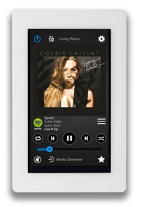 Russound XTS In-Wall Touchscreen