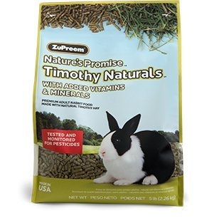- Zupreem Food Nature'S Promise Rabbit Pellets, 5 Lb