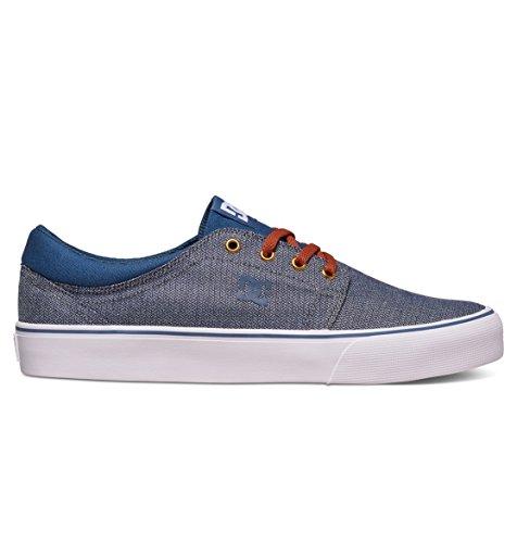Navy Homme TX Baskets White Trase Shoes Bleu DC Basses Se TwF8RTxn