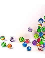 50 قطعة سنترال المرح - كرات عالية الارتداد 38 مم هدايا الحفلات للأطفال - تصاميم متنوعة