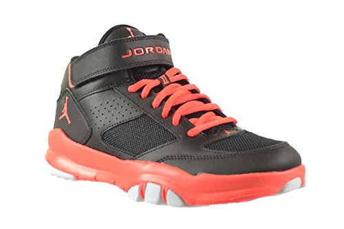 d09492ffa46 Jordan BCT Mid 2 BG Big Kids Shoes Black/Infrared 616363-023 (5.5 M ...