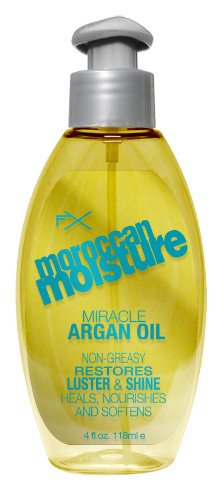 OGX Argan Oil, FX Moisture Miracle, 4 Ounce