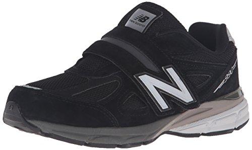 New Balance Boys KV990V4 Pre Running Shoe, Black, 33.5 XW EU