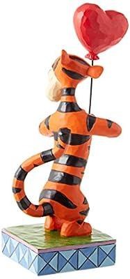 """Enesco 4059747 Disney Traditions by Jim Shore Tigger Heartstrings Figurine 7.63"""" Multicolor"""