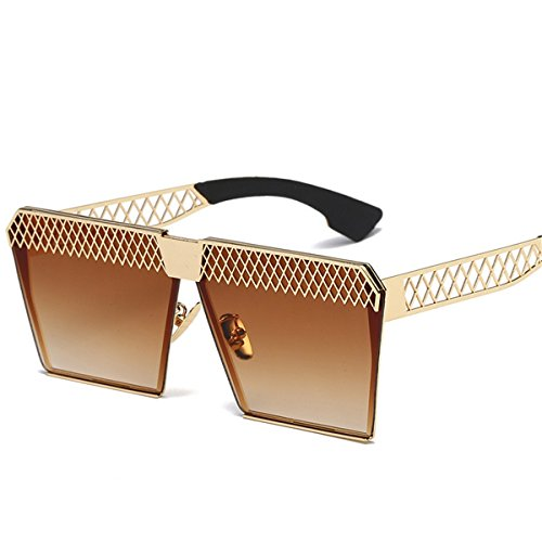 Plat Polarisées Light De Creux Soleil E polarized Tendance Mode Carré XGLASSMAKER Miroir Lunettes xt7Yftgw
