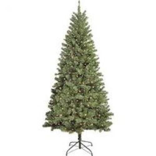 (Santas Forest Douglas Fir UI 10870 Christmas Tree, 7', Multi Color)