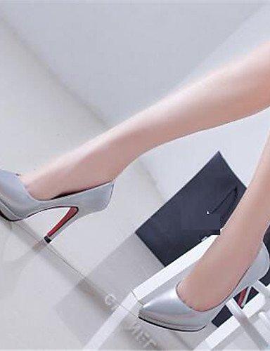 tac¨®n tacones Eu37 Red semicuero us6 Rojo Black Uk4 Zq Blanco 5 Eu36 Plata Cn37 Mujer negro Uk4 Zapatos Y 5 oficina De Rosa us6 Stiletto Trabajo 5 Cn36 Vestido tacones 7 wwFtXq