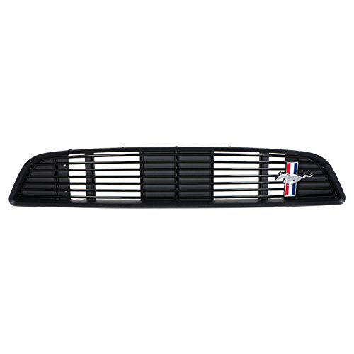 - OEM NEW Front Upper Grille California Special Billet Gloss Black 13-14 Mustang