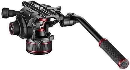 Manfrotto Nitrotech 612 Fluid Videokopf Für Dslrs Spiegellose Video Und Cinema Kameras Stufenloses Counterbalance System Gewichtsausgleich