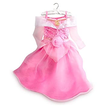 2c892d458e403 Authentic Disney Store - Sleeping Beauty Aurora Costume Fancy Dress For  Girls / Kids Girls - Size 5 / 6 Years (shoes, wand and tiara sold  separately)