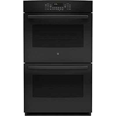 "GE JT5500DFBB 30"" Black Electric Double Wall Oven - Convection"