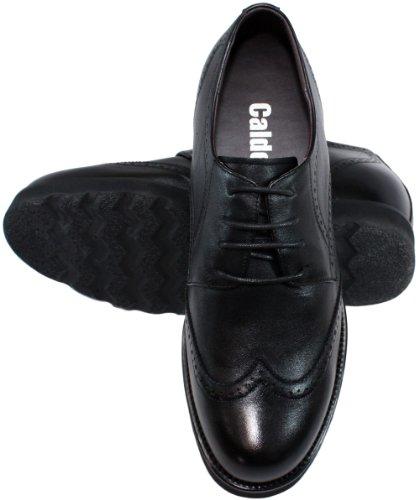 Chaussures Grande Noir Ascenseurwing tip nbsp;– 1 nbsp;– À Taille Lacets nbsp;cm Augmenter nbsp;hauteur Calden nbsp;k285051–7 P0nOkw8