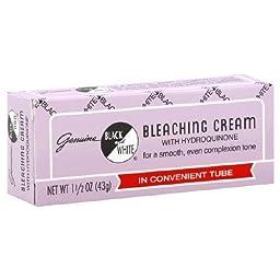 Black and White Bleaching Cream, 1.5 Ounce