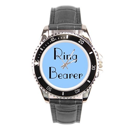 Ring Bearer 1 Inch Leather Watches (Ring Bearer Watch)