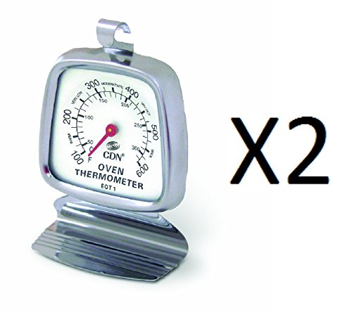 CDN EOT1 Oven Thermometer - Set of 2 by CDN