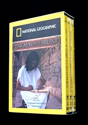 Enigmas de la Biblia II - National Geographic 3 dvd boxset (Cain y Abel / Los Pergaminos del Mar Muerto / Reyes de Israel) [NTSC/Region 1 and 4] (Audio: English/Spanish)