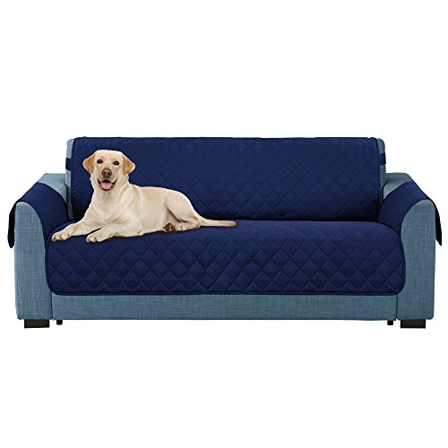 Childs Loveseat (E-Living Store Reversible Loveseat/Couch Furniture Protector with 2 Inch Elastic Strap, Machine Washable, Perfect for Pet and Kids, Seat Width Up to 54