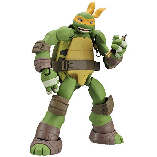 Revoltech Mutant Ninja turtles Michelangelo 120 mm ABS-&PVC PVC pre-painted action figures - Pvc Figure Revoltech Joints