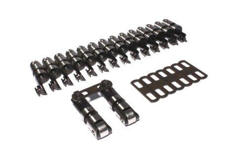 COMP Cams 8992-16 Endure-X Solid Roller Cutaway Lifter for GM SB2 Head, (Set of 16)
