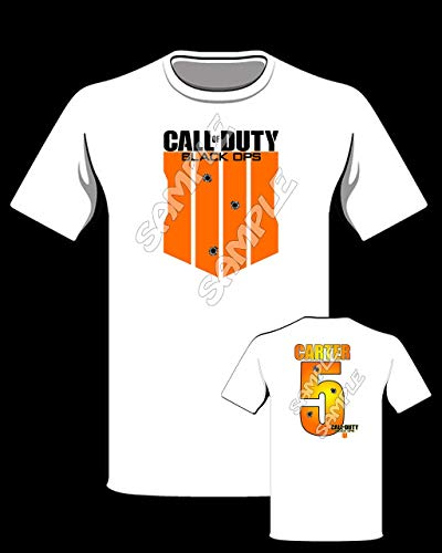 Call Of Duty Black Ops 4 Personalized Birthday t-shirt #5 (Call Of Duty Black Ops Birthday Party Supplies)