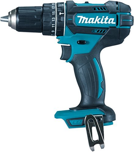 Makita DHP482Z 18 V 62Nm Combi Drill Body Only - Blue