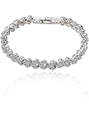 Women's Crystal Bracelet Simple Design Fashion All Match Chic Accessory