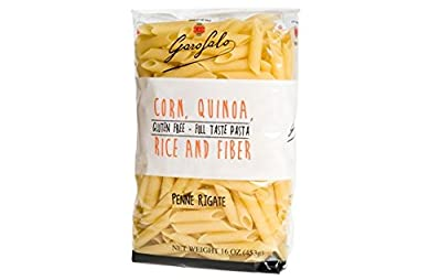Garofalo Gluten Free Penne Rigate Pasta, 16 oz (Pack of 2)