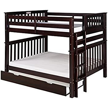 Amazon Com Camaflexi Santa Fe Mission Tall Bunk Bed