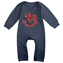 The Well-know Anime Monster Hunter Logo Baby Onesie Romper Jumpsuit Bodysuits