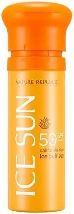 Nature Republic Provence Calendula Spf 50 Ice Puff Sun, 100 Gram