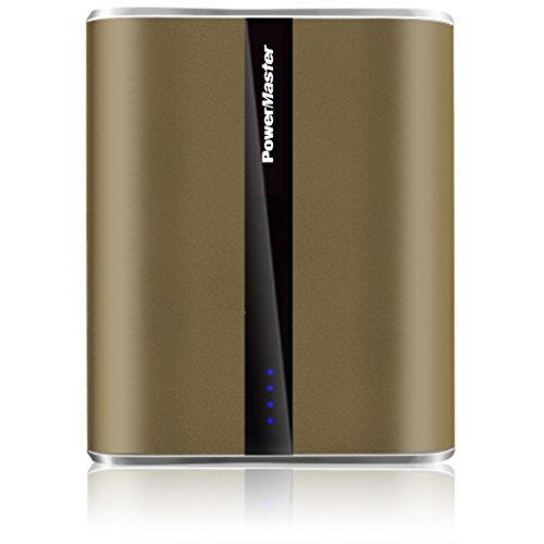 PowerMaster USB [Portable] 12,000mAh [Premium Power Bank] W/ [Dual USB Charging Ports] LED Flashlight Mobile Battery Charger- iPhone 7 Plus/7/6s Plus/6/Galaxy/HTC/Smart Android Windows Phone- - Nearest Premium Outlets