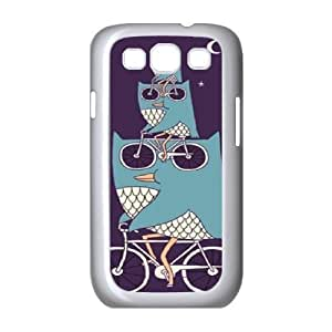 Owl Customized Cover Case for Samsung Galaxy S3 I9300,custom phone case ygtg526606
