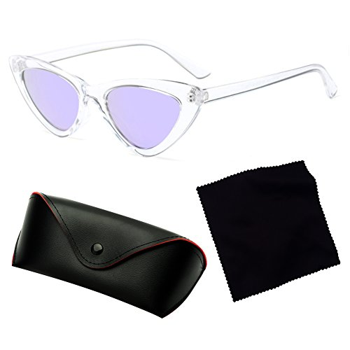 C10 Sunglasses Cat Juleya Sunglasses Eye Red Mujeres Retro Small Sexy Triangle 7PSSvqw