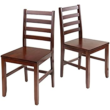 Exceptionnel Winsome Wood Hamilton 2 Piece Ladder Back Chair