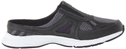 888098229813 - New Balance Women's WW520 Walking Shoe,Black/Purple,8 2A US carousel main 5