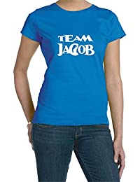 Team Jacob Howling Wolf Woman's Tee Shirt
