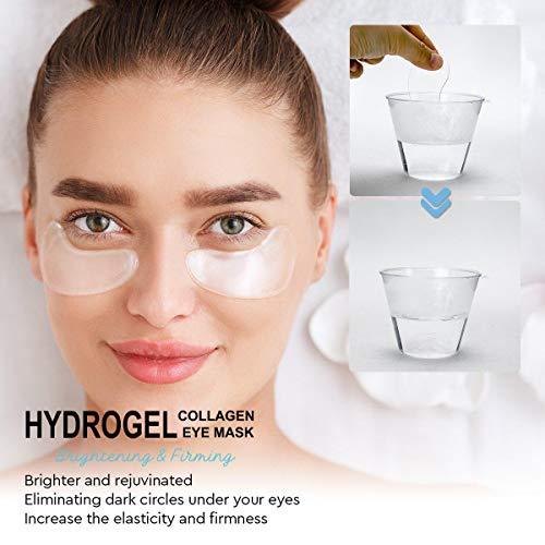 41w2vtI%2B6NL - AZALLY Hydrogel Collagen Eye Mask - Collagen Anti-Aging Under Eye Patches, Under Eye Patches, Under Eye Bags Treatment, Eye Mask for Puffy Eyes (60pcs)