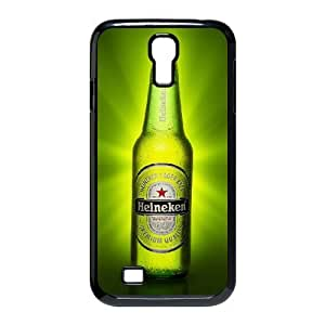 Bloomingbluerose Heineken Beer Cases for Samsung Galaxy S4, with Black