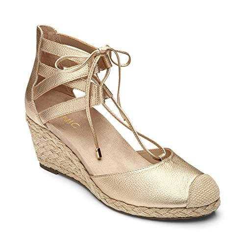 Women's Vionic Calypso Wedge Sandal, Size 8.5 M - Metallic