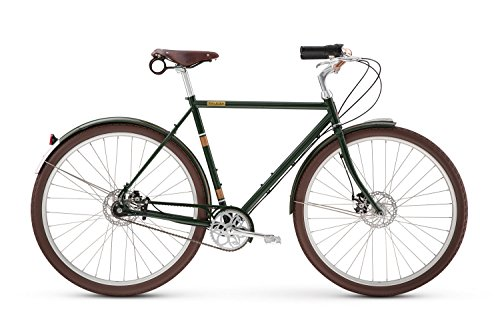 Raleigh Bikes Tourist Classic City Bike Frame, Green, 54cm/Medium
