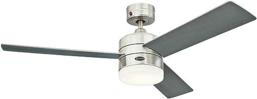 Westinghouse Lighting Alta Vista Ventilador de Techo Integrado, 17 ...