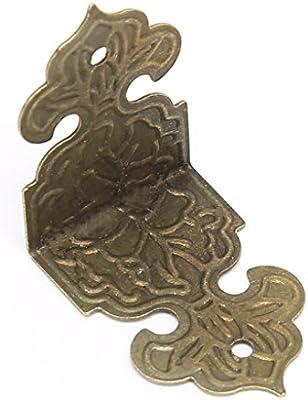 BIlinli 12xAnimales en Bronce Caja de joyería Decorativa Estuche ...