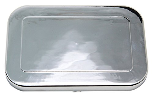 Trans-Dapt 9255 Chrome Brake Cylinder Cover Chrome Master Cylinder Cover