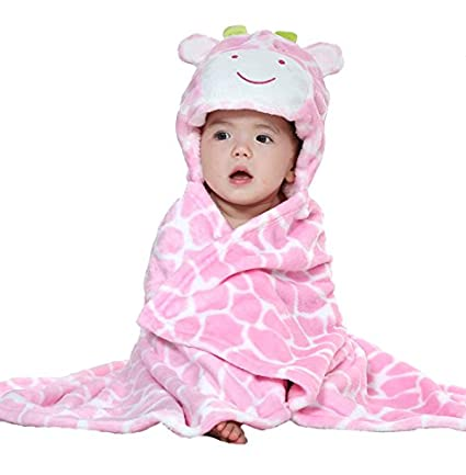 Uleade Cute Animal Cartoon Baby Infant Kidu0027s Hooded Towel Wrap  sc 1 st  Amazon.com & Amazon.com: Uleade Cute Animal Cartoon Baby Infant Kidu0027s Hooded ...
